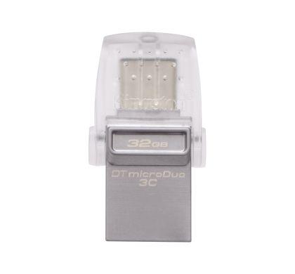 KINGSTON DataTraveler microDuo 3C 32 GB USB 3.1 Flash Drive Top