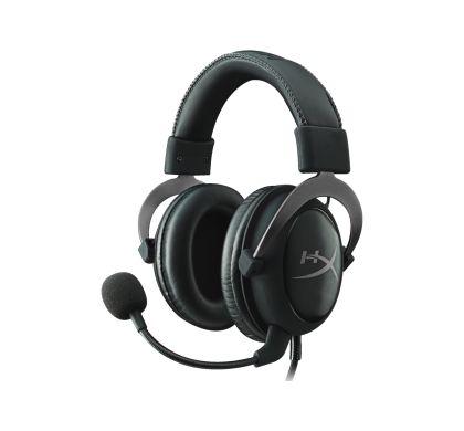 KINGSTON HyperX Cloud II Wired 53 mm Surround Headset - Over-the-head - Circumaural - Gun Metal