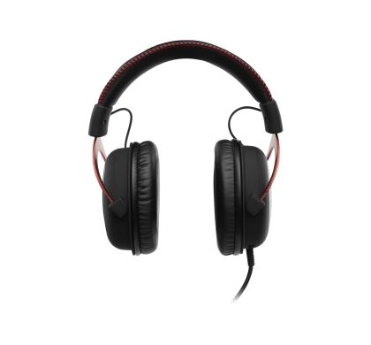 KINGSTON HyperX Cloud II Wired Surround Headset - Over-the-head - Circumaural - Red Front