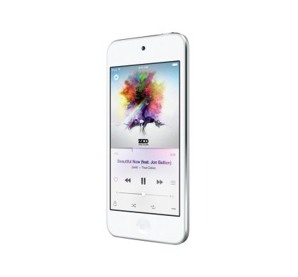 APPLE iPod touch 6G 32 GB White, Silver Flash Portable Media Player Left