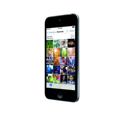 APPLE iPod touch 6G 32 GB Space Gray Flash Portable Media Player Left
