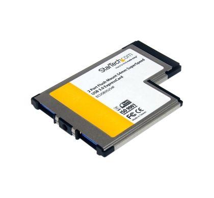 STARTECH .com USB Adapter - ExpressCard/54 - Plug-in Module