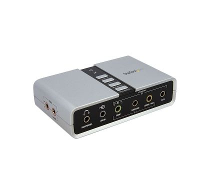 STARTECH .com External Sound Box - 7.1 Sound Channels - External
