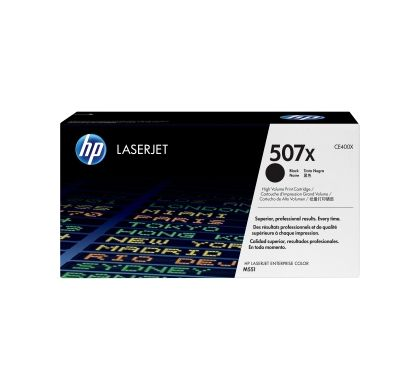 HP 507X Toner Cartridge - Black