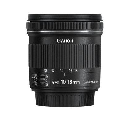 CANON 10 mm - 18 mm f/4.5 - 5.6 Wide Angle Lens for  EF-S