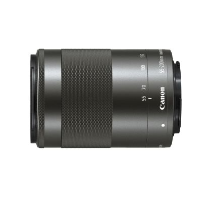 CANON 55 mm - 200 mm f/4.5 - 6.3 Telephoto Zoom Lens for  EF-M Left