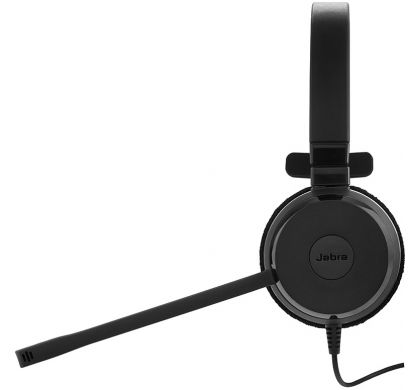 JABRA EVOLVE 20 Wired Mono Headset - Over-the-head - Supra-aural LeftMaximum