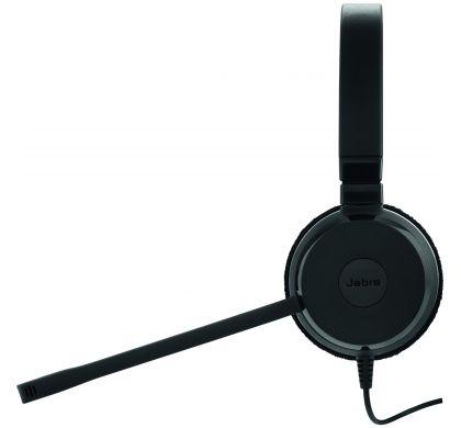 JABRA EVOLVE 20 Wired Stereo Headset - Over-the-head - Supra-aural LeftMaximum