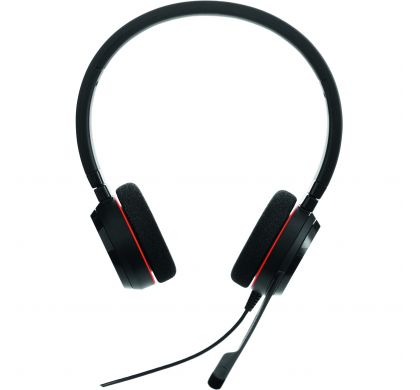 JABRA EVOLVE 20 Wired Stereo Headset - Over-the-head - Supra-aural FrontMaximum