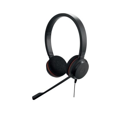 JABRA EVOLVE 20 Wired Stereo Headset - Over-the-head - Supra-aural