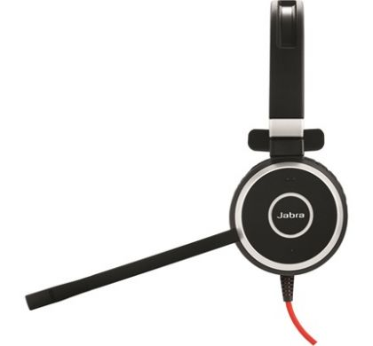 JABRA EVOLVE 40 Wired Mono Headset - Over-the-head - Supra-aural LeftMaximum