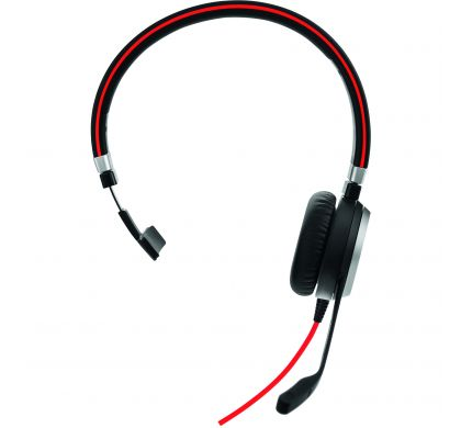 JABRA EVOLVE 40 Wired Mono Headset - Over-the-head - Supra-aural FrontMaximum