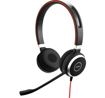 JABRA EVOLVE 40 Wired Stereo Headset - Over-the-head - Supra-aural LeftMaximum