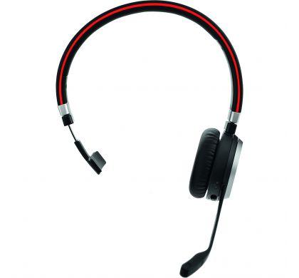 JABRA EVOLVE 65 Wireless Bluetooth Mono Headset - Over-the-head - Supra-aural FrontMaximum