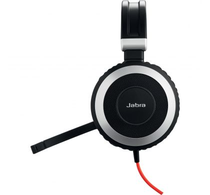 JABRA EVOLVE 80 Wired Stereo Headset - Over-the-head - Circumaural LeftMaximum