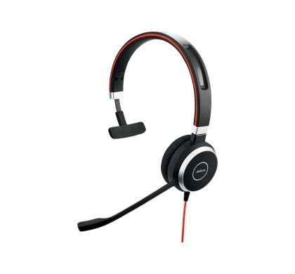 JABRA EVOLVE 40 Wired Mono Headset - Over-the-head - Circumaural