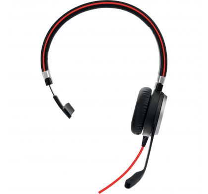 JABRA EVOLVE 40 Wired Mono Headset - Over-the-head - Circumaural FrontMaximum