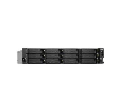 QNAP Turbo NAS TS-1263U 12 x Total Bays NAS Server - 2U - Rack-mountable