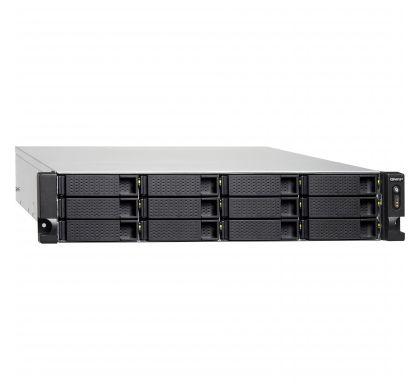 QNAP Turbo NAS TS-1263U 12 x Total Bays NAS Server - 2U - Rack-mountable RightMaximum