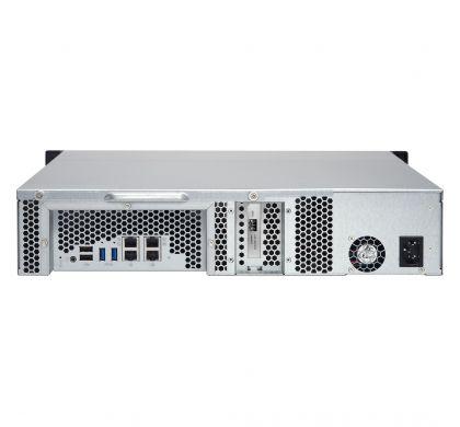 QNAP Turbo NAS TS-1263U 12 x Total Bays NAS Server - 2U - Rack-mountable RearMaximum