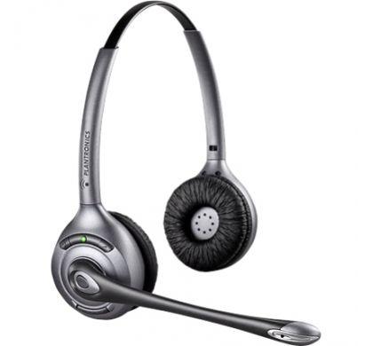 PLANTRONICS Savi WH350/A Wireless DECT Stereo Headset - Over-the-head - Semi-open - Black RightMaximum