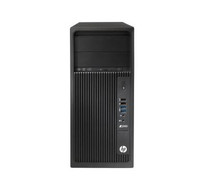 HP Z240 Tower Workstation - 1 x Processors Supported - 1 x Intel Xeon E3-1225 v5 Quad-core (4 Core) 3.30 GHz - Black