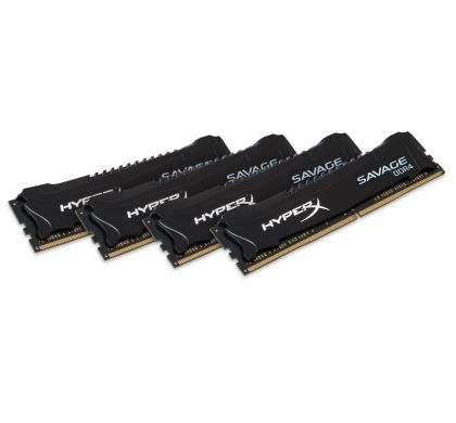 KINGSTON HyperX Savage RAM Module - 64 GB (4 x 16 GB) - DDR4 SDRAM