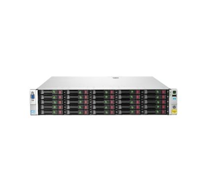 HPE HP StoreVirtual 4730 SAN Array - 25 x HDD Supported - 25 x HDD Installed - 22.50 TB Installed HDD Capacity