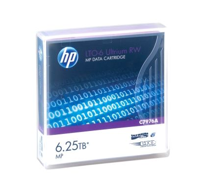 HPE HP Data Cartridge LTO-6 - 1 Pack