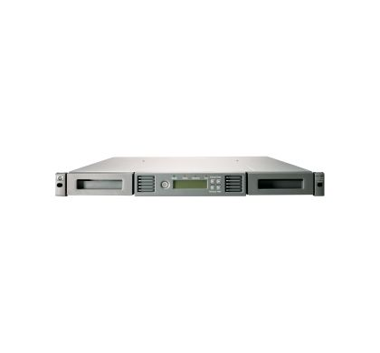 HPE HP StoreEver Tape Autoloader - 1 x Drive/8 x Cartridge Slot - LTO-6 - 1U - Rack-mountable