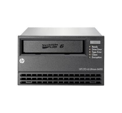 HPE HP StoreEver LTO-6 Tape Drive - 2.50 TB (Native)/6.25 TB (Compressed) - Black