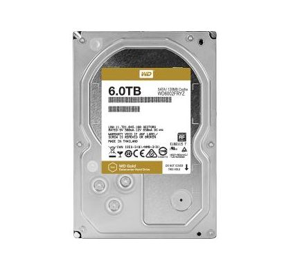 "WESTERN DIGITAL WD Gold WD6002FRYZ 6 TB 3.5"" Internal Hard Drive"