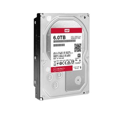 "WESTERN DIGITAL WD Red Pro WD6002FFWX 6 TB 3.5"" Internal Hard Drive"