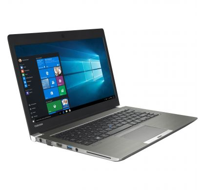 "TOSHIBA Portege Z30-C 33.8 cm (13.3"") Ultrabook - Intel Core i5 (6th Gen) i5-6200U Dual-core (2 Core) 2.30 GHz - Cosmo Silver with Hairline RightMaximum"