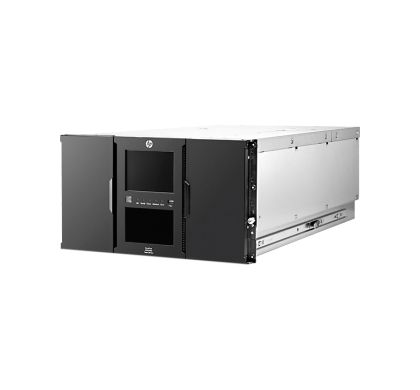 HPE HP StoreEver MSL6480 Tape Library - 0 x Drive/80 x Cartridge Slot - 6U - Rack-mountable