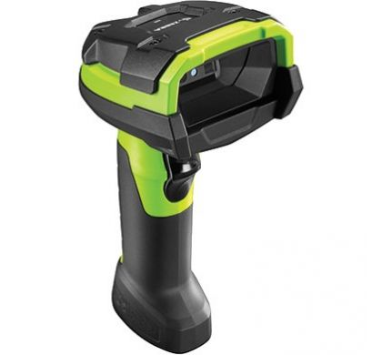 ZEBRA DS3608-SR Handheld Barcode Scanner - Cable Connectivity - Industrial Green RightMaximum