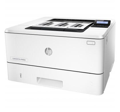 HP LaserJet Pro 400 M402N Laser Printer - Plain Paper Print - Desktop LeftMaximum