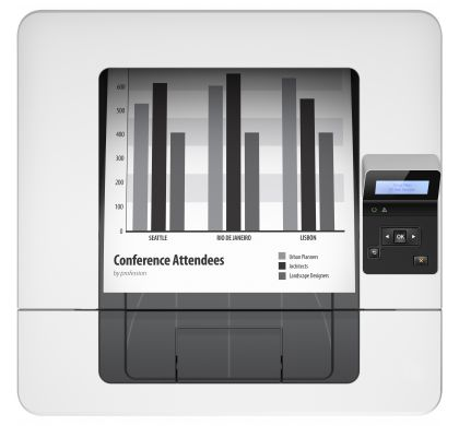 HP LaserJet Pro 400 M402N Laser Printer - Plain Paper Print - Desktop TopMaximum