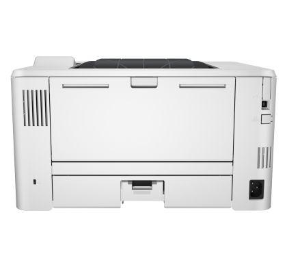 HP LaserJet Pro 400 M402N Laser Printer - Plain Paper Print - Desktop RearMaximum