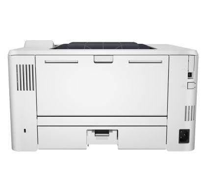 HP LaserJet Pro 400 M402DN Laser Printer - Plain Paper Print - Desktop RearMaximum