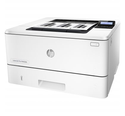 HP LaserJet Pro 400 M402DN Laser Printer - Plain Paper Print - Desktop LeftMaximum