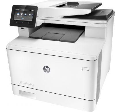 HP LaserJet Pro M477fnw Laser Multifunction Printer - Plain Paper Print LeftMaximum
