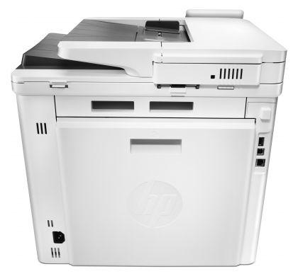 HP LaserJet Pro M477fnw Laser Multifunction Printer - Plain Paper Print RearMaximum