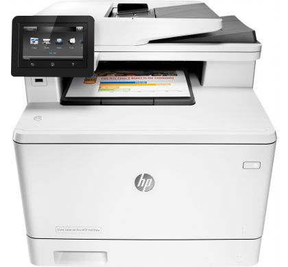 HP LaserJet Pro M477fdw Laser Multifunction Printer - Plain Paper Print