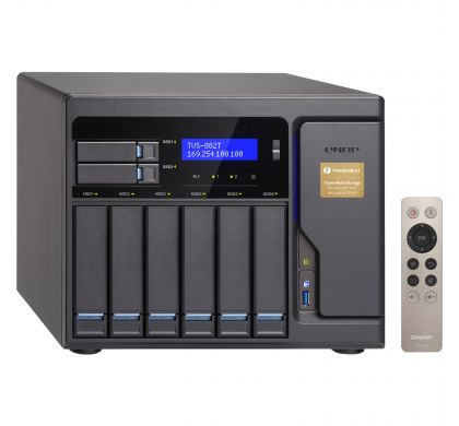 QNAP Turbo vNAS TVS-882T-I5-16G 8 x Total Bays SAN/NAS Server - Tower
