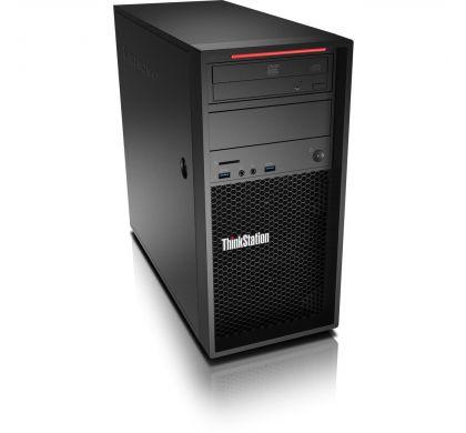 LENOVO ThinkStation P410 30B30015AU Workstation - 1 x Intel Xeon E5-1607 v4 Quad-core (4 Core) 3.10 GHz - Graphite Black