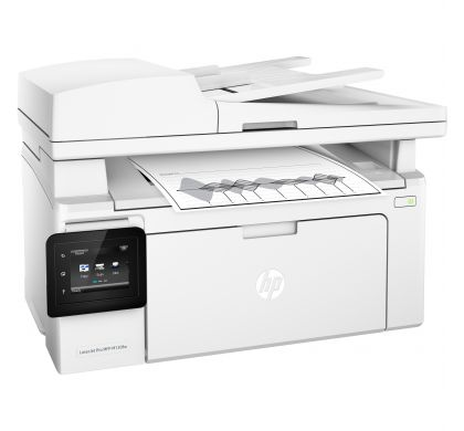 HP LaserJet Pro M130fw Laser Multifunction Printer - Monochrome - Plain Paper Print - Desktop RightMaximum
