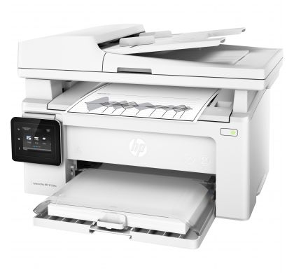 HP LaserJet Pro M130fw Laser Multifunction Printer - Monochrome - Plain Paper Print - Desktop LeftMaximum