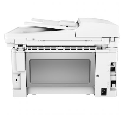 HP LaserJet Pro M130fw Laser Multifunction Printer - Monochrome - Plain Paper Print - Desktop RearMaximum