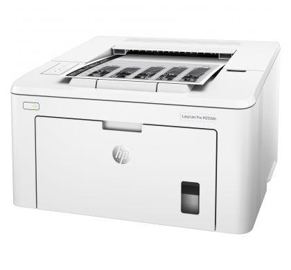 HP LaserJet Pro M203dn Laser Printer - Monochrome - 1200 x 1200 dpi Print - Plain Paper Print - Desktop LeftMaximum